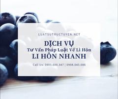 Dịch Vụ Tư Vấn Ly Hôn