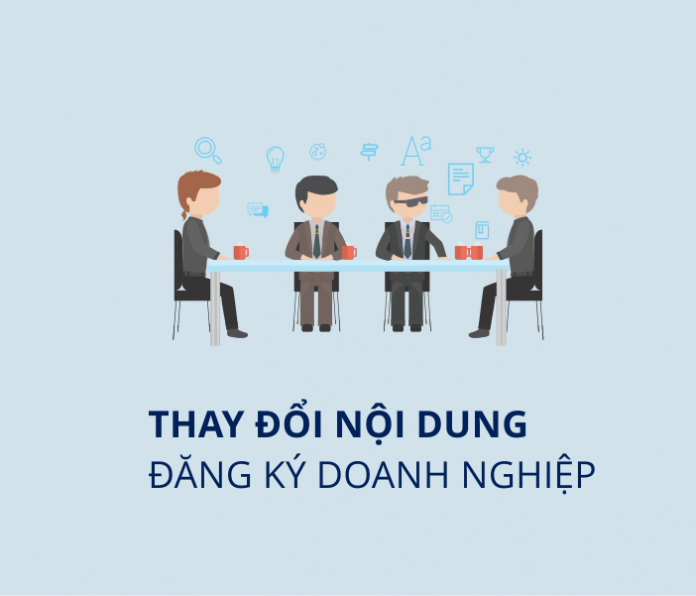 Thực hiện thủ tục đăng ký thay đổi nội dung đăng ký doanh nghiệp